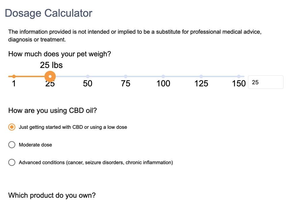 dosage calculator